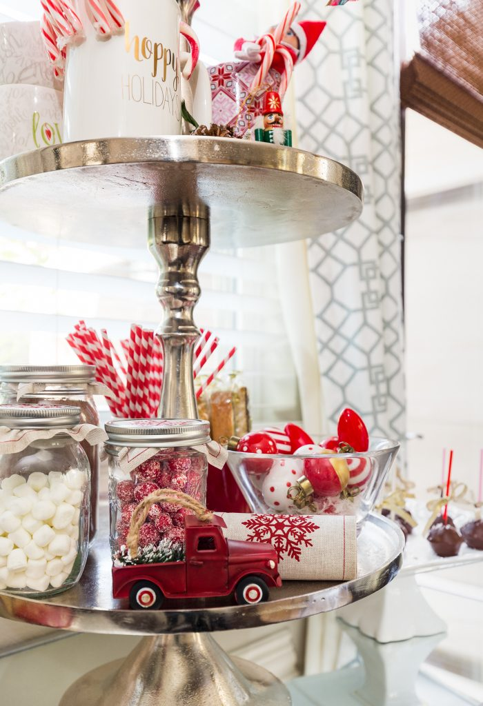 Christmas Home Tour - Hot Cocoa Station -Honey We're Home 3
