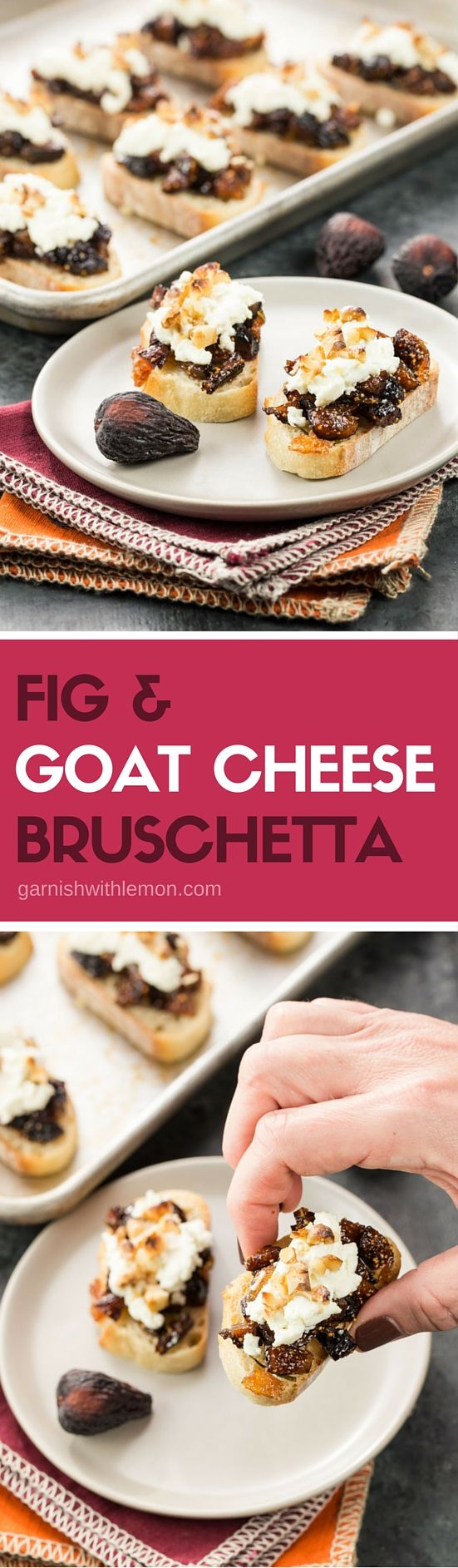 Fig & Goat Cheese Bruschetta