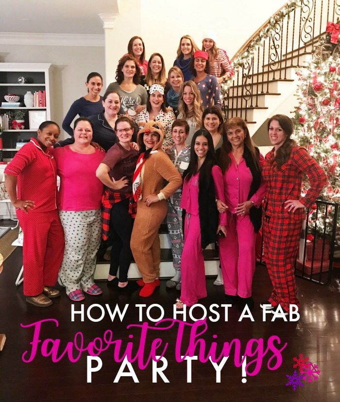 How to Host a Favorite Things Party