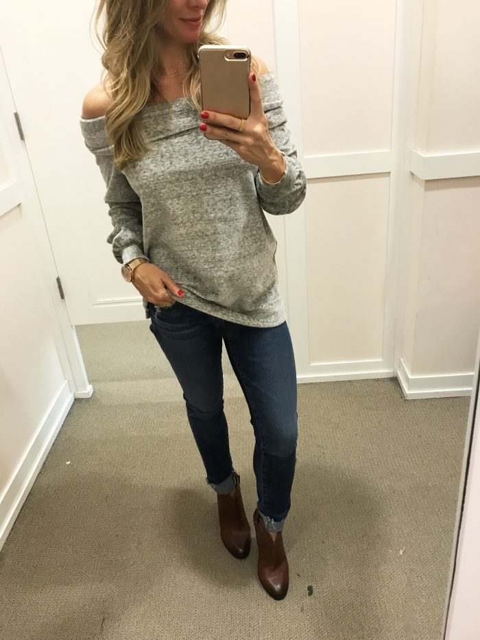 DressingRoomDetails - grey Sweater Loft