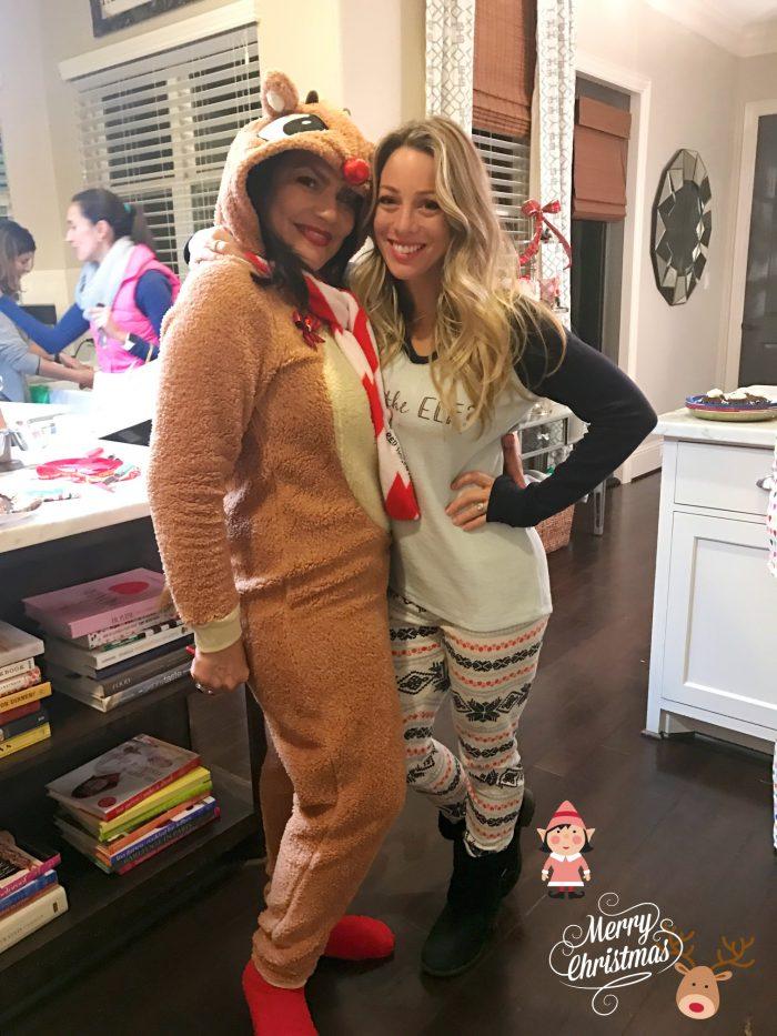 Reindeer & Elf