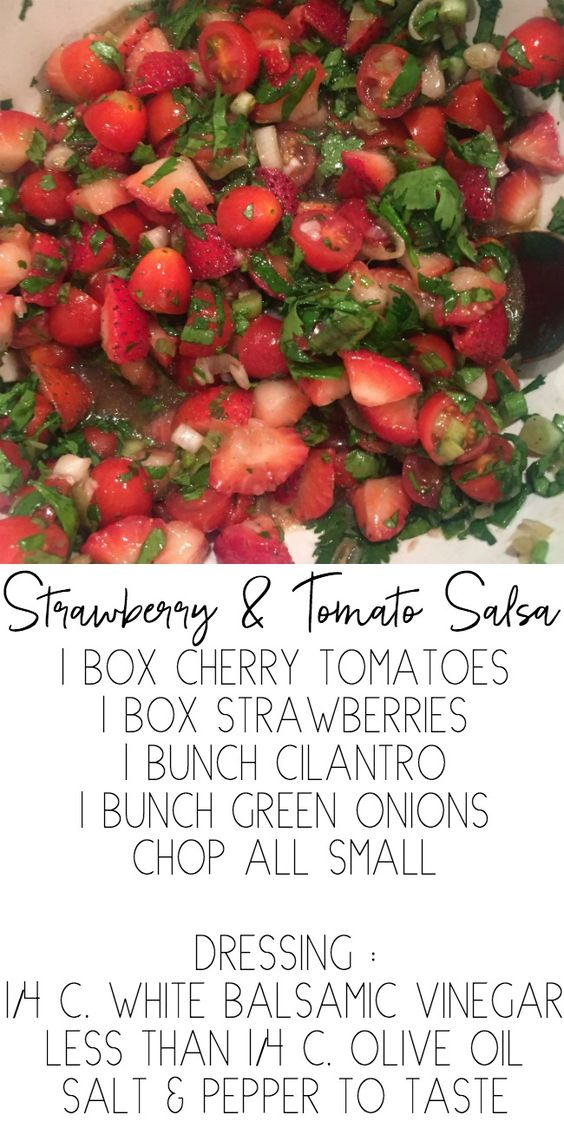 Strawberry & Tomato Salsa