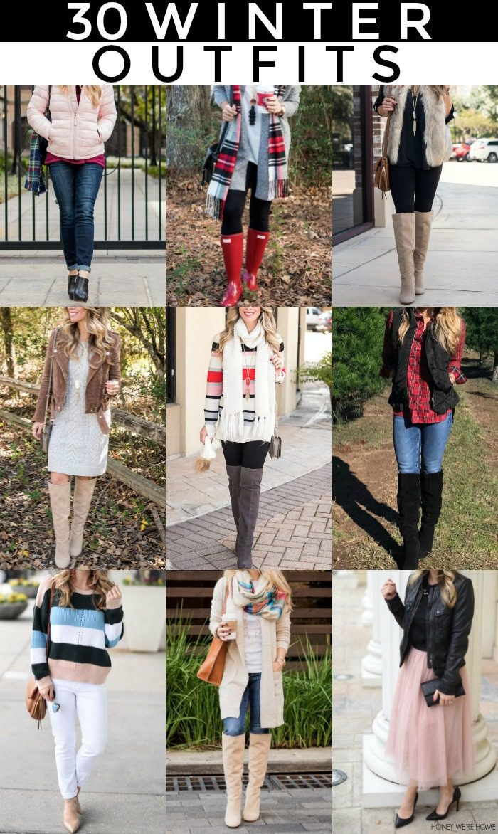 30 Cute Winter Outfits