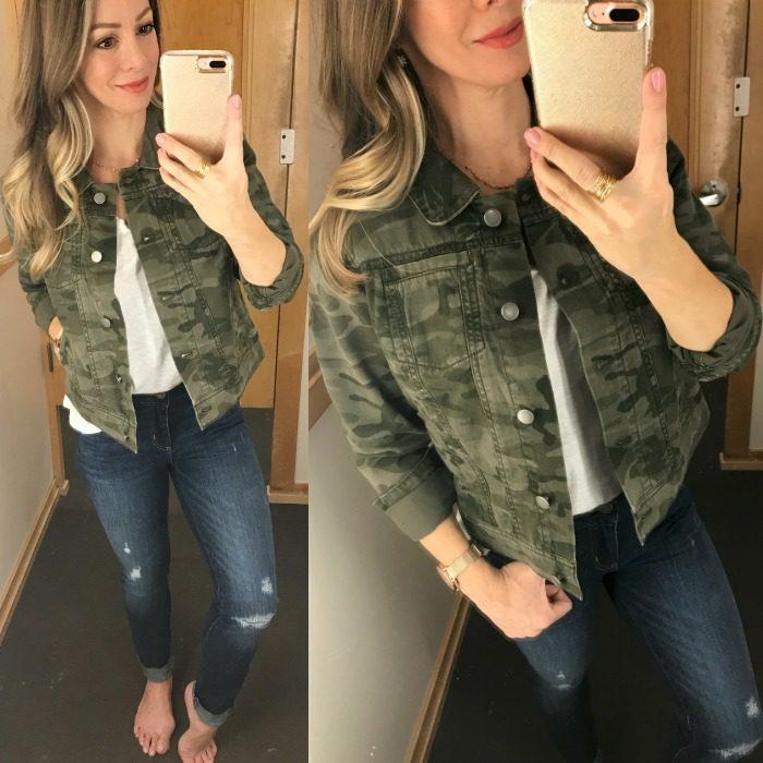 DR - LOFT camo jacket