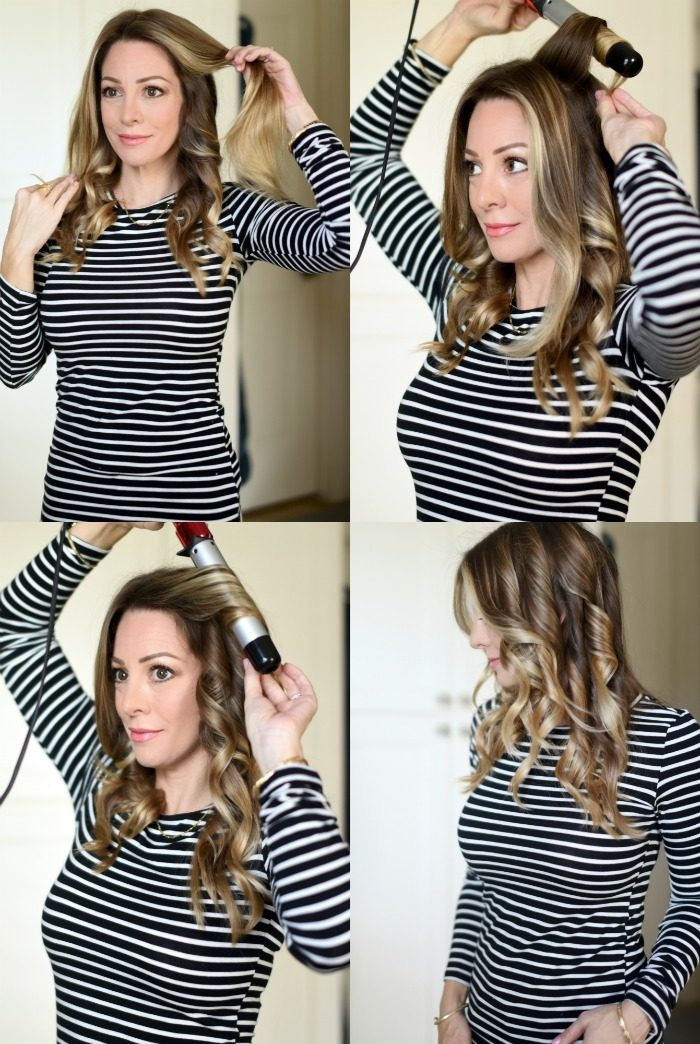 How to curl your hair for voluminous waves2