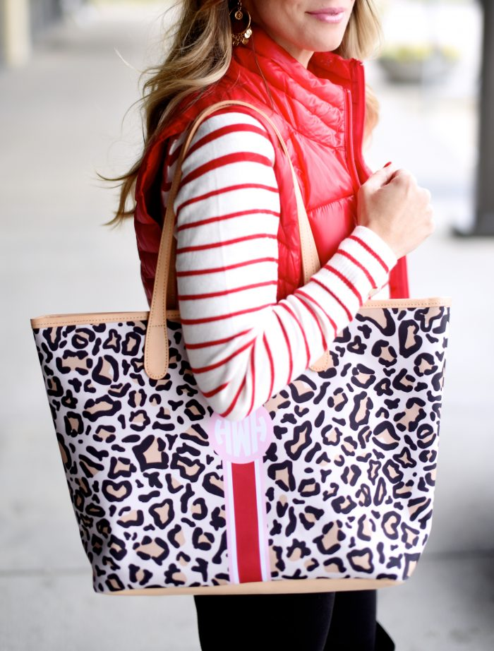 Leopard Barrington Bag