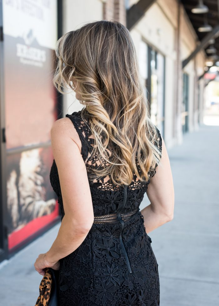 Little Black Lace Dress 6