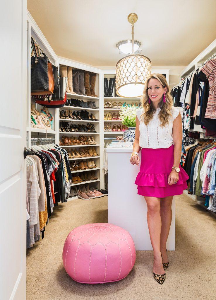 how to organize your closet honey we 39 re home. Black Bedroom Furniture Sets. Home Design Ideas
