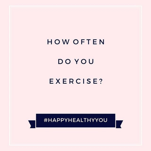 #HappyHealthyYout- tips for exercise