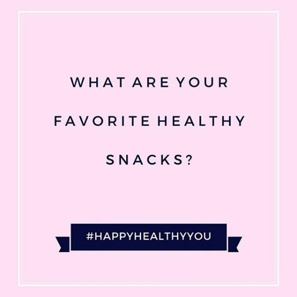 #HappyHealthyYou - tips for healthy snacks