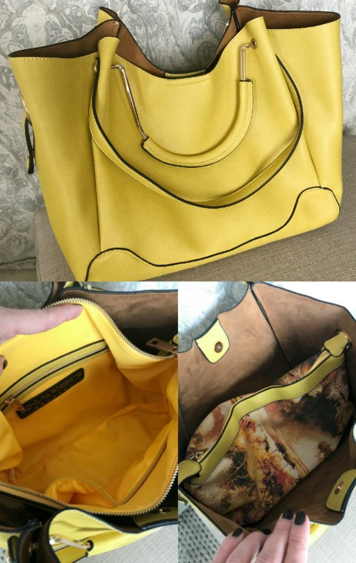 Yellow Bag for Spring