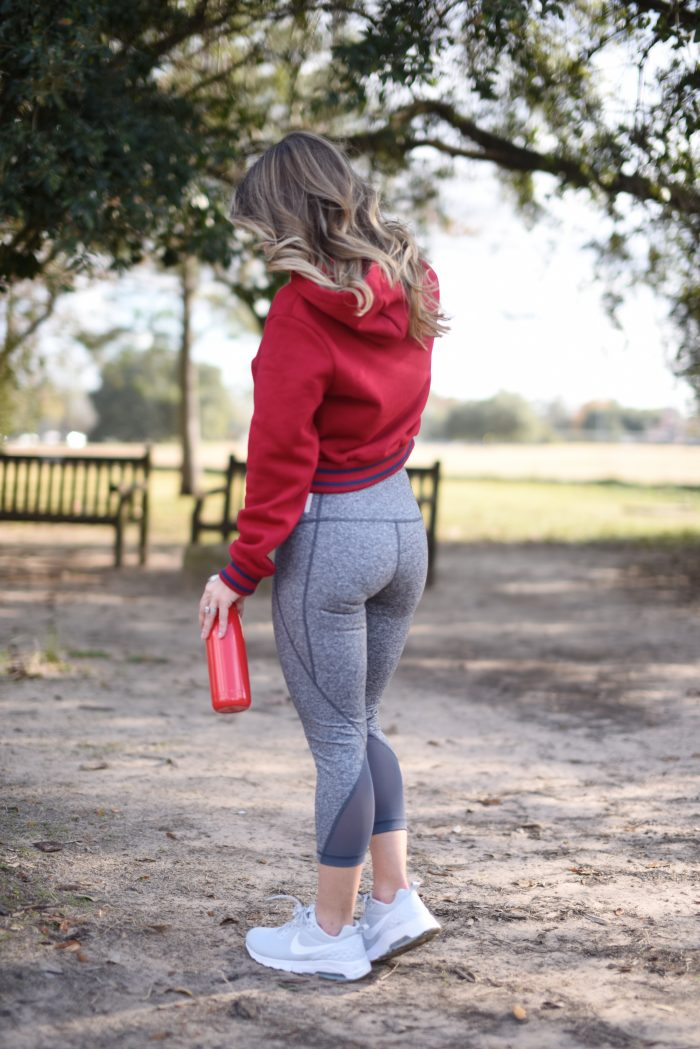 how to get fit.4 Zella crop leggings