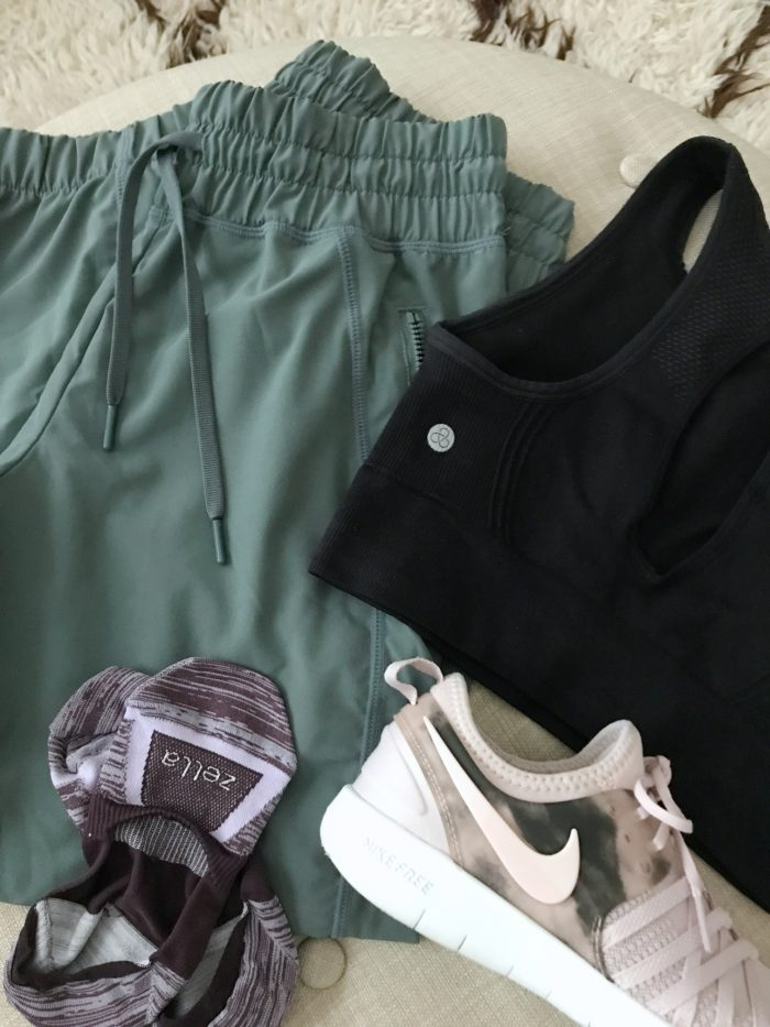 zella joggers and sports bra