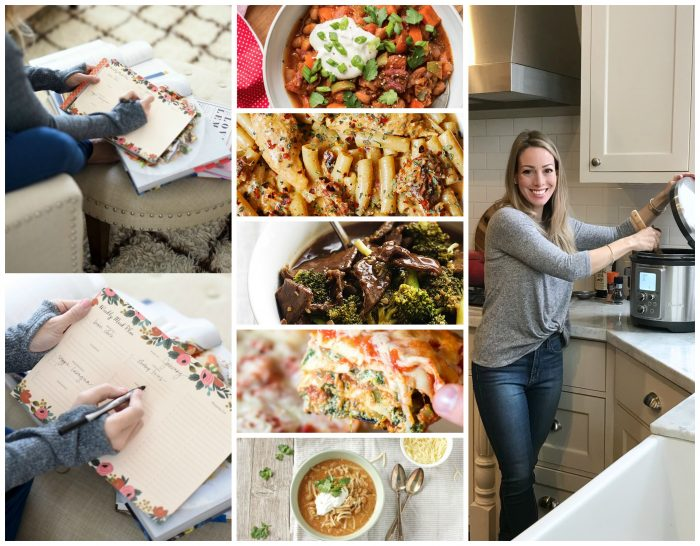 5 Easy Dinners Planned