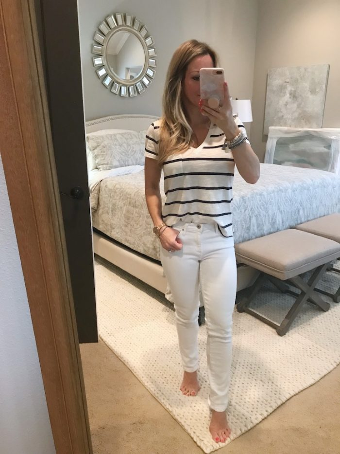 White Jeans Review - AG Prima Jeans