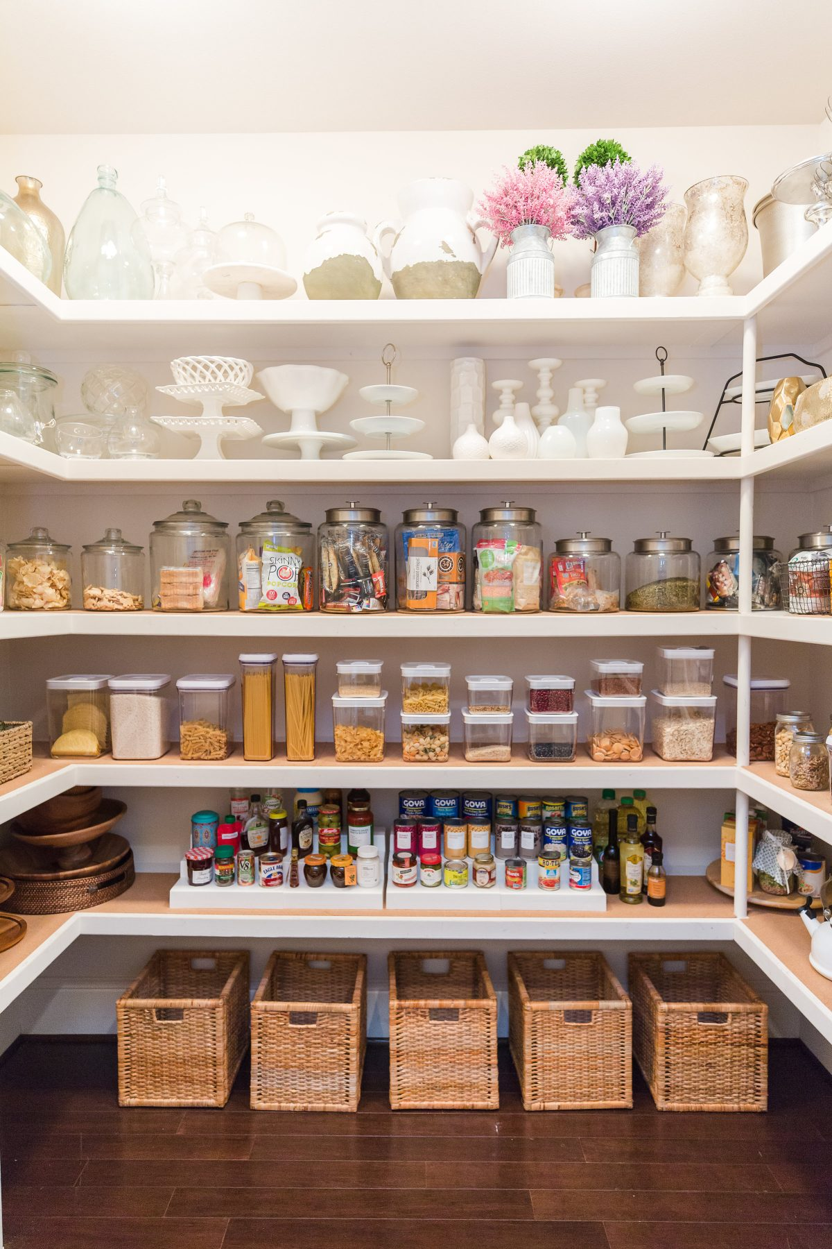 how to organize my kitchen pantry organized pantry honey we re home 8772