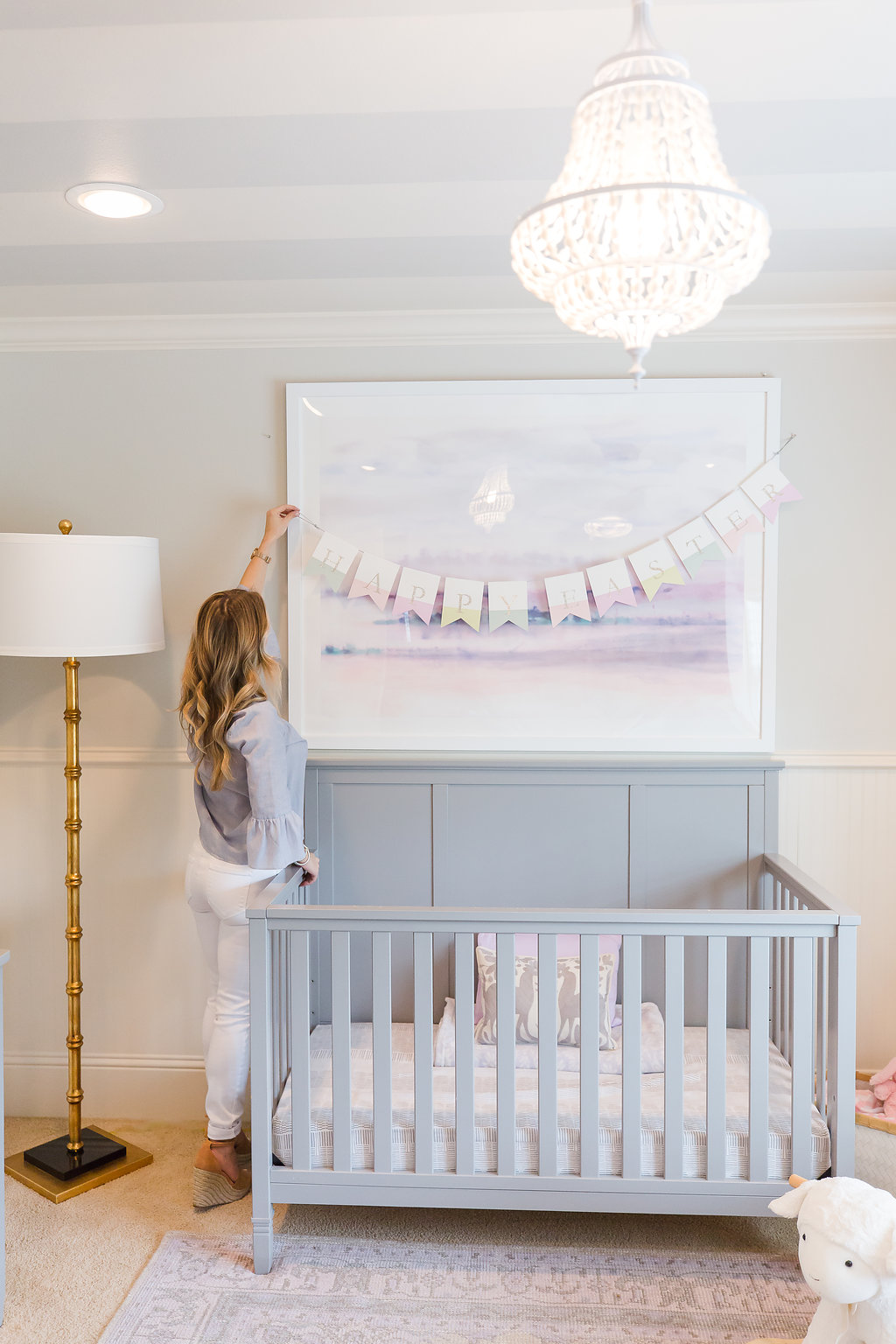 Spring Home Tour Nursery