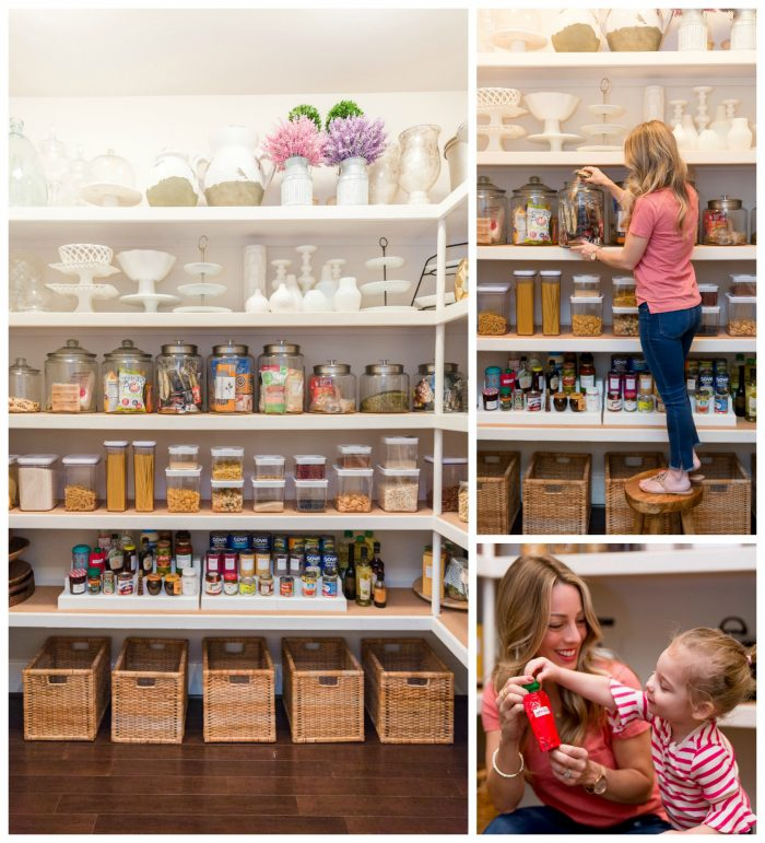 Organized Pantry Collage