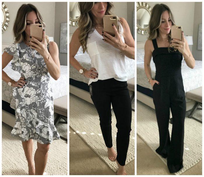 February Black and White Dressing Room