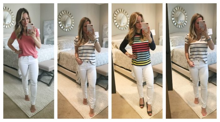 White Jeans Collage