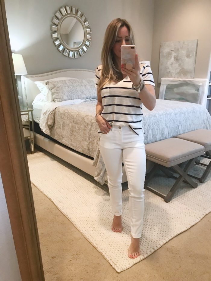 White Jeans Review - Vince Camuto