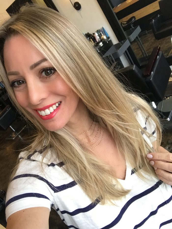 melted ombre hair blonde