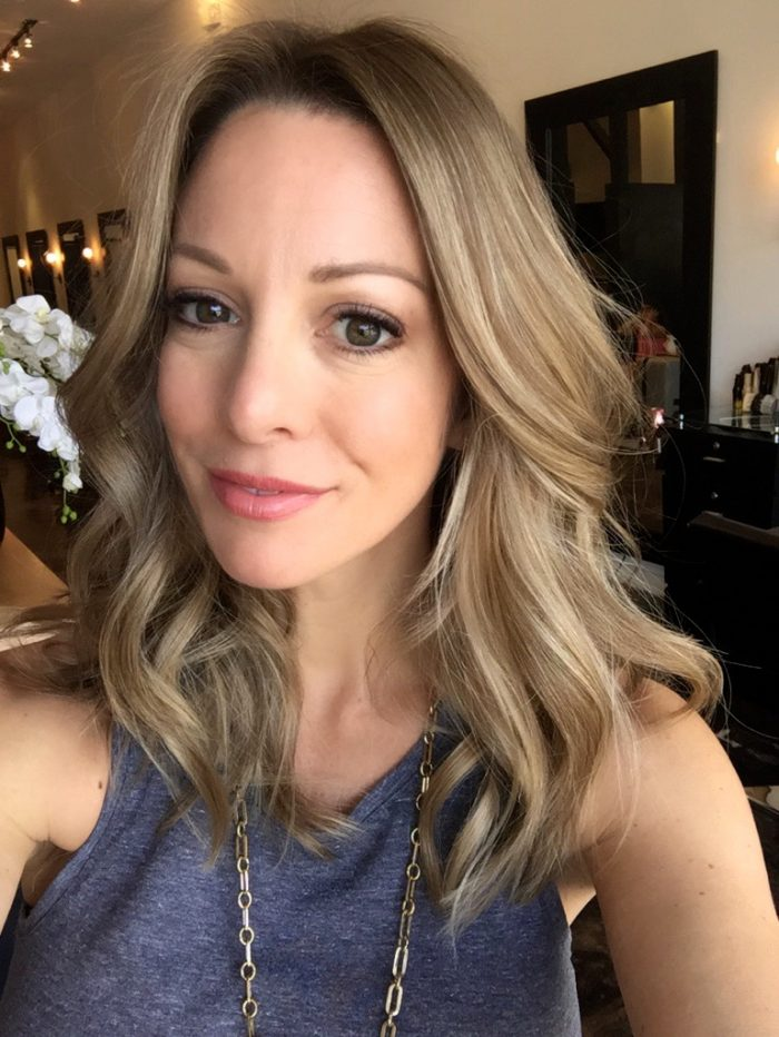 melted ombre hair bronde
