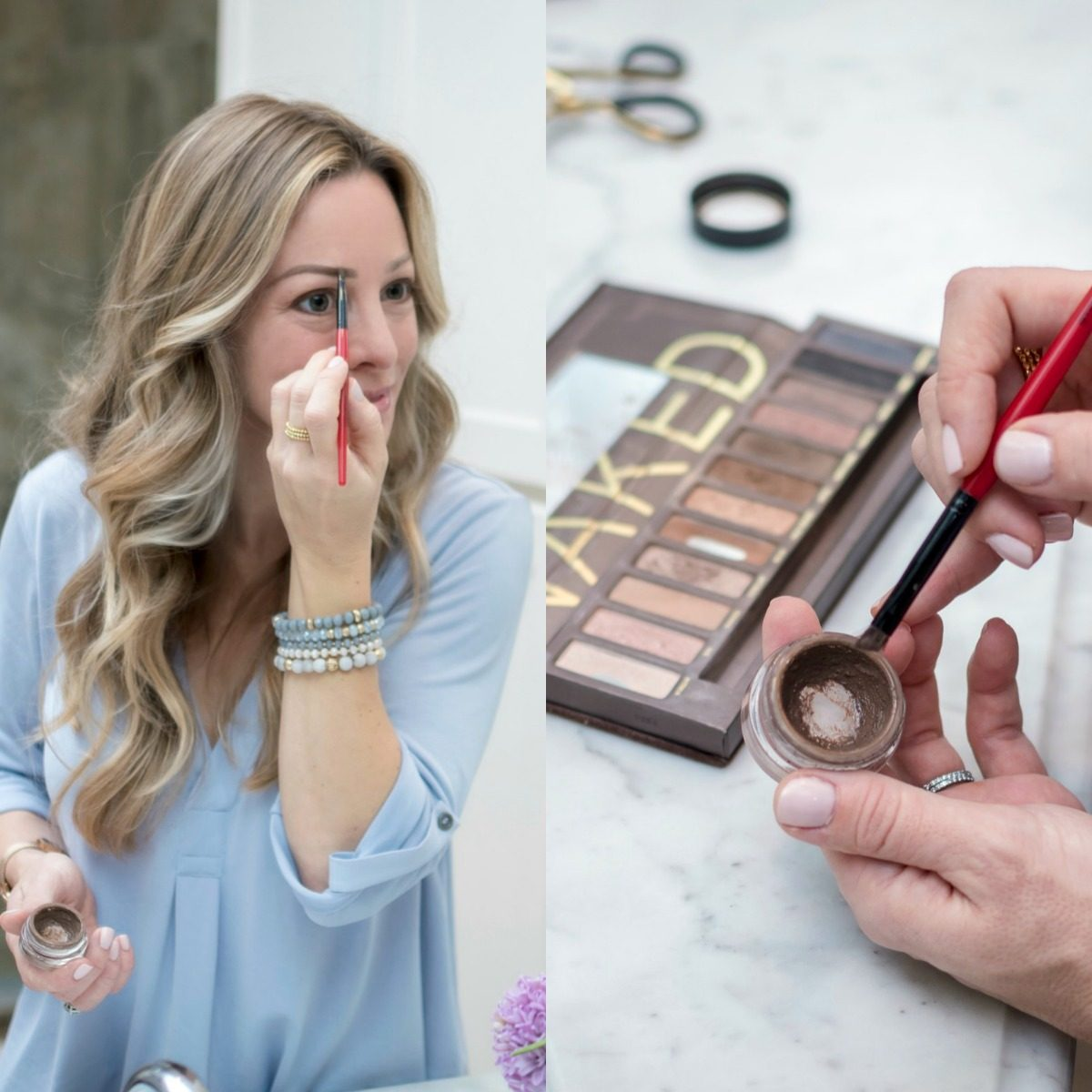 Easy Everyday Makeup Tutorial - dip brow