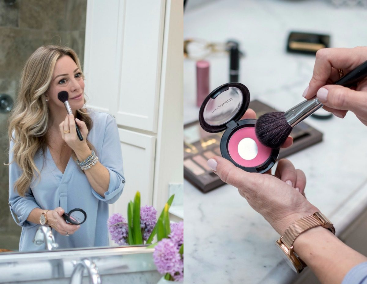 Easy Everyday Makeup- blush