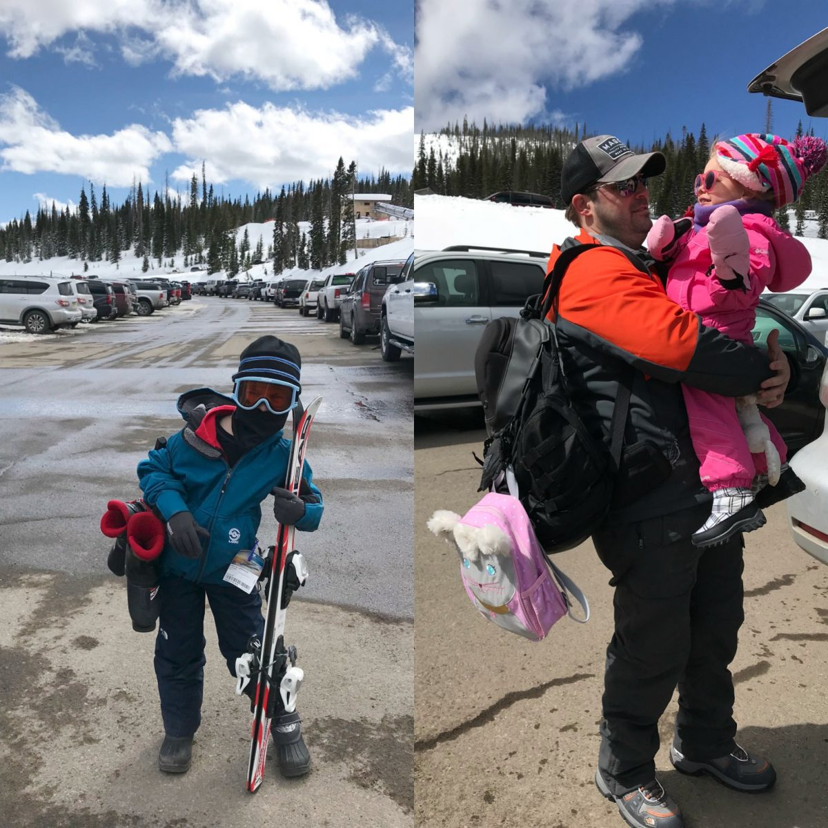 Family ski trip with a toddler.5