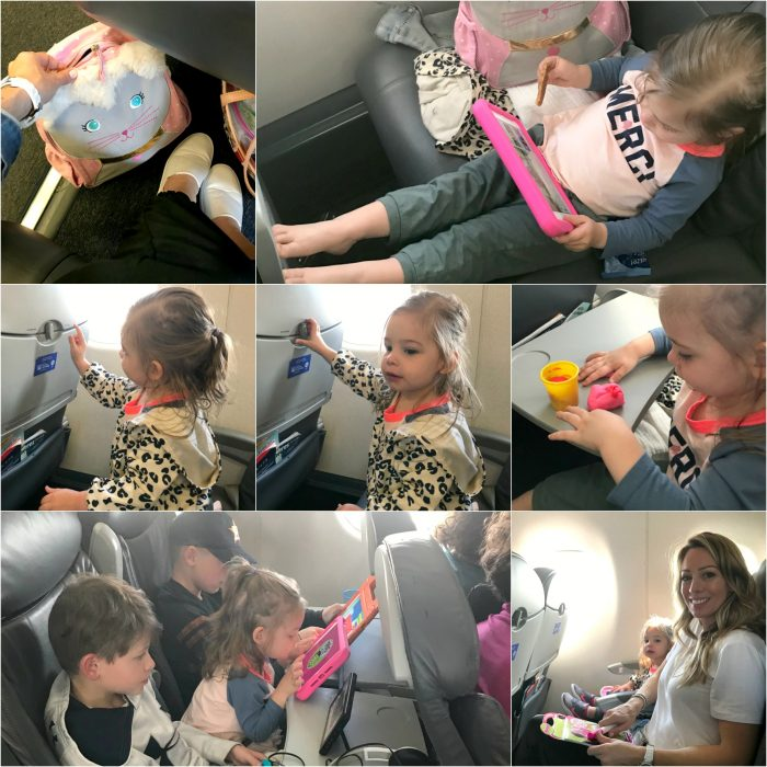 Keeping toddler occupied on airplane