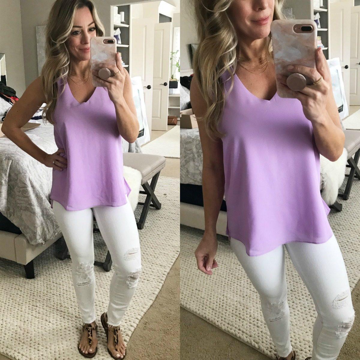 LIYxGibson lavender tank