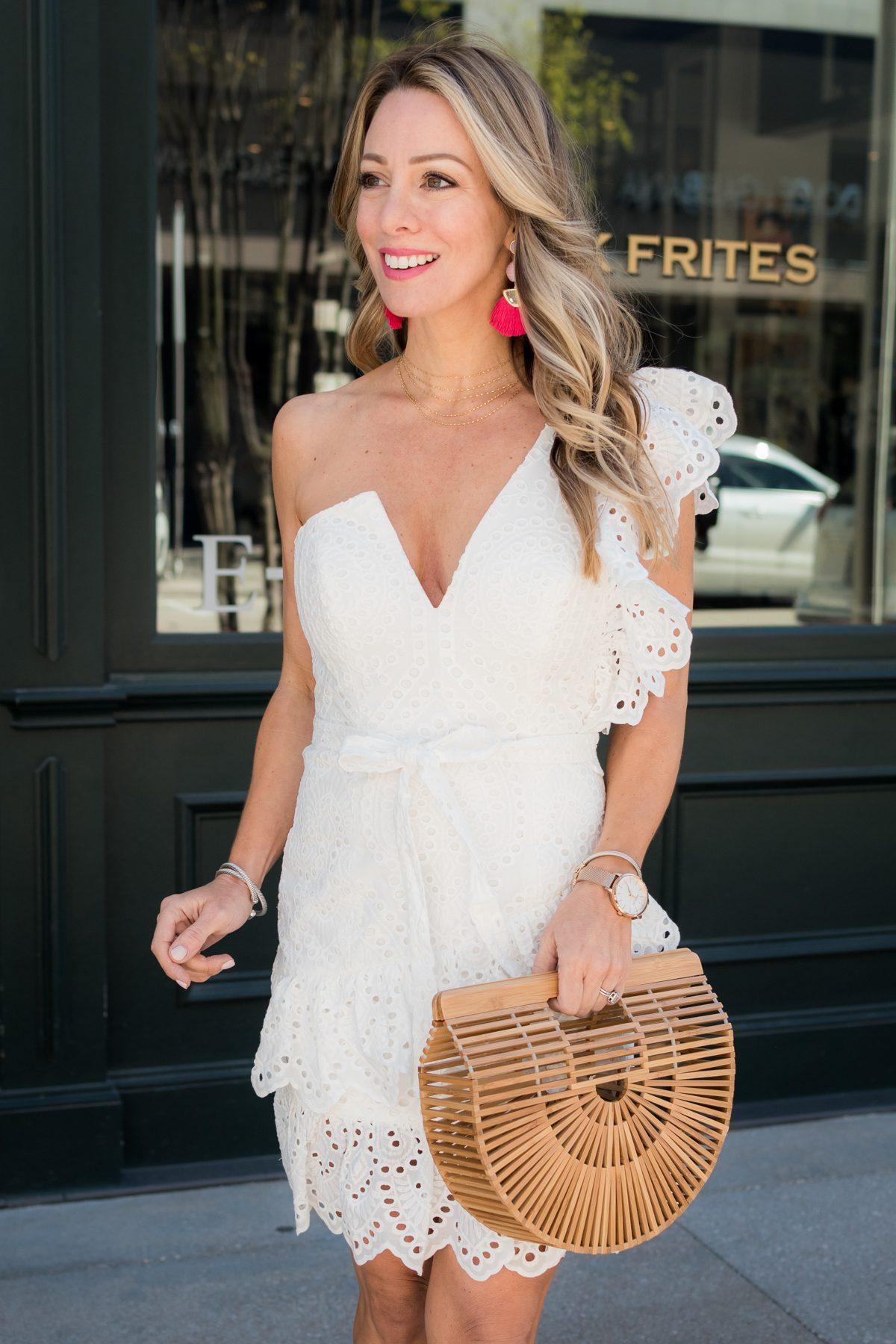 White eyelet dress-1-2