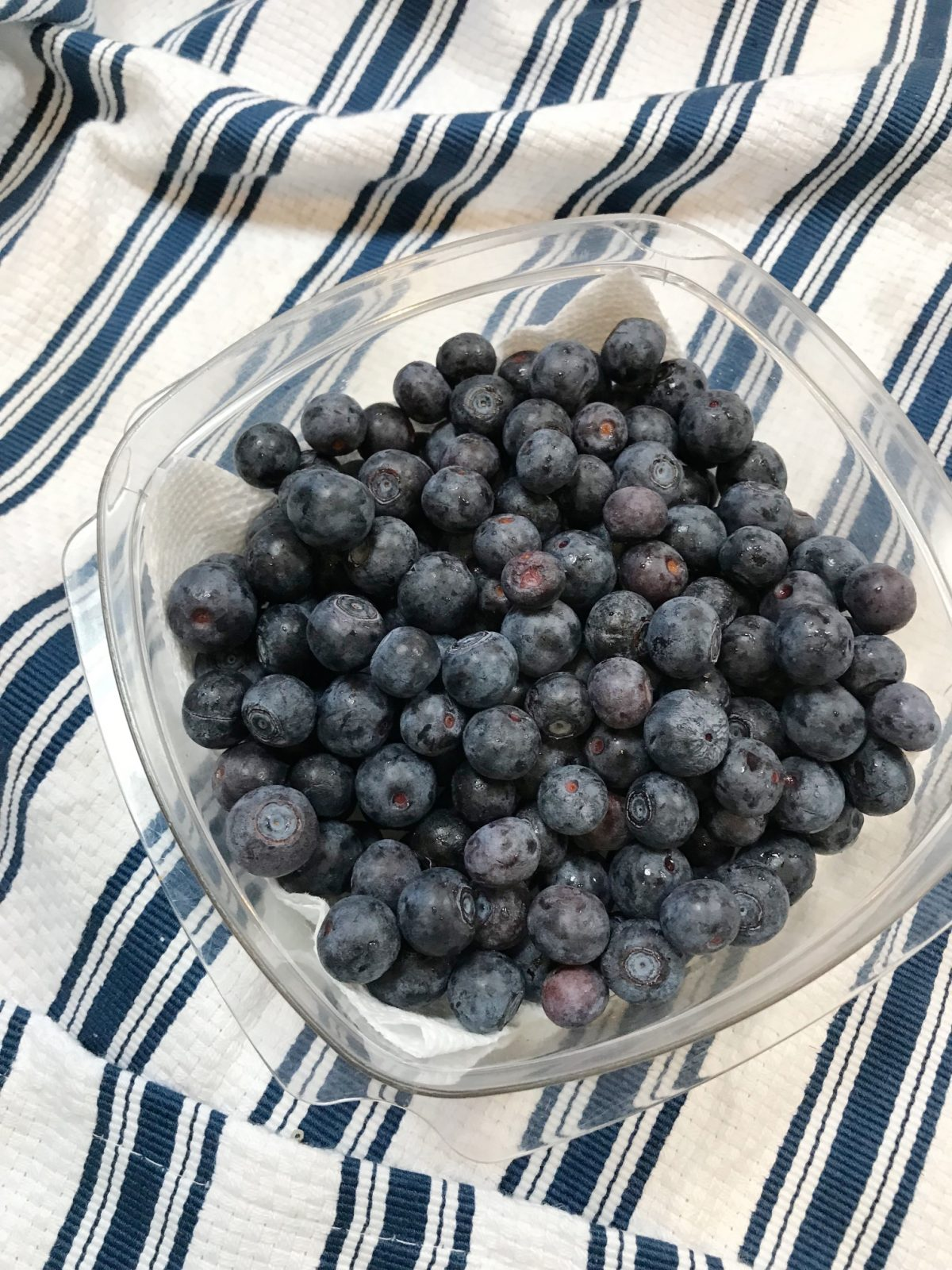 How to keep blueberries fresh