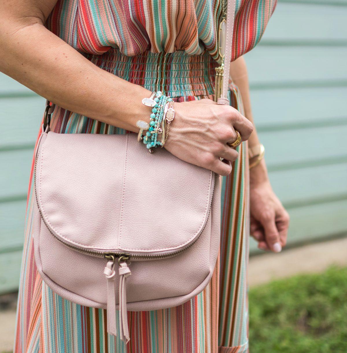 Spring fashion -striped halter dress 8