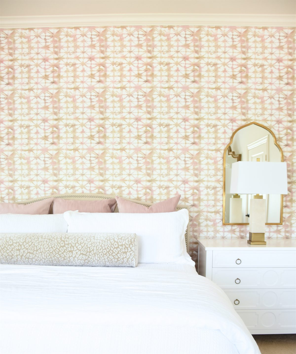 Bedroom decor - Anthropologie wallpaper