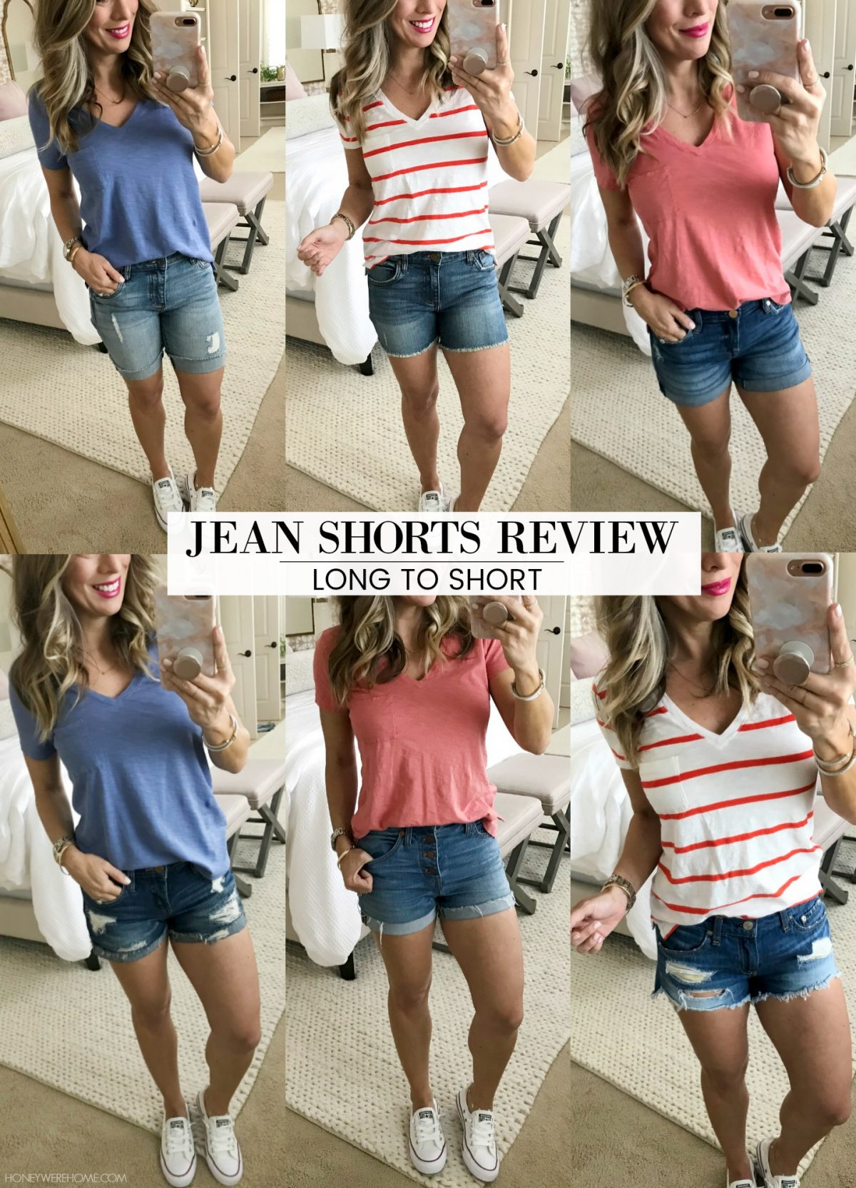 best jean shorts for summer