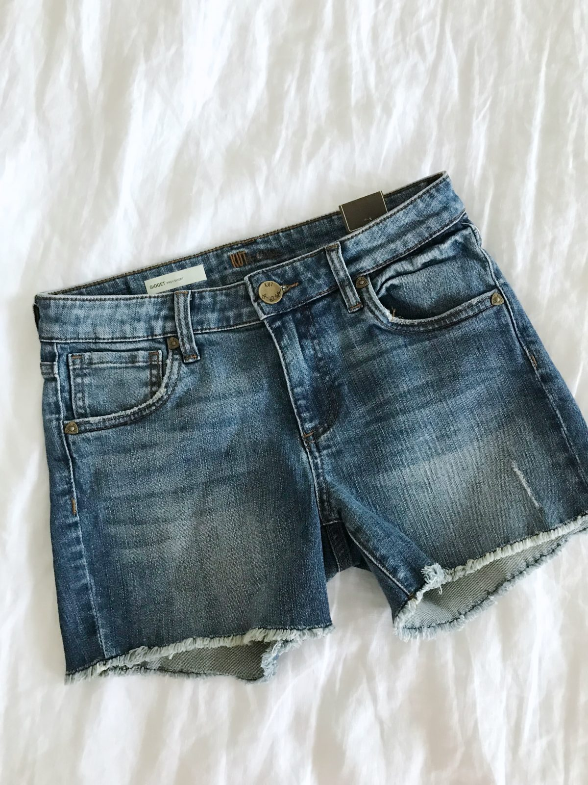 best jean shorts for summer kut from the kloth