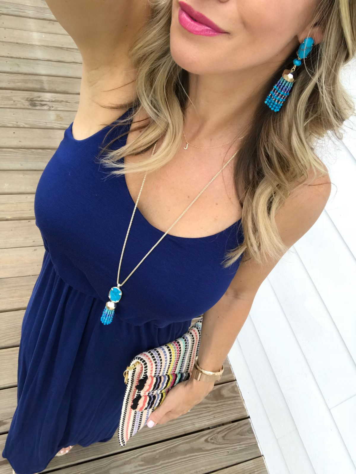 Spring & Summer outfit - maxi dress