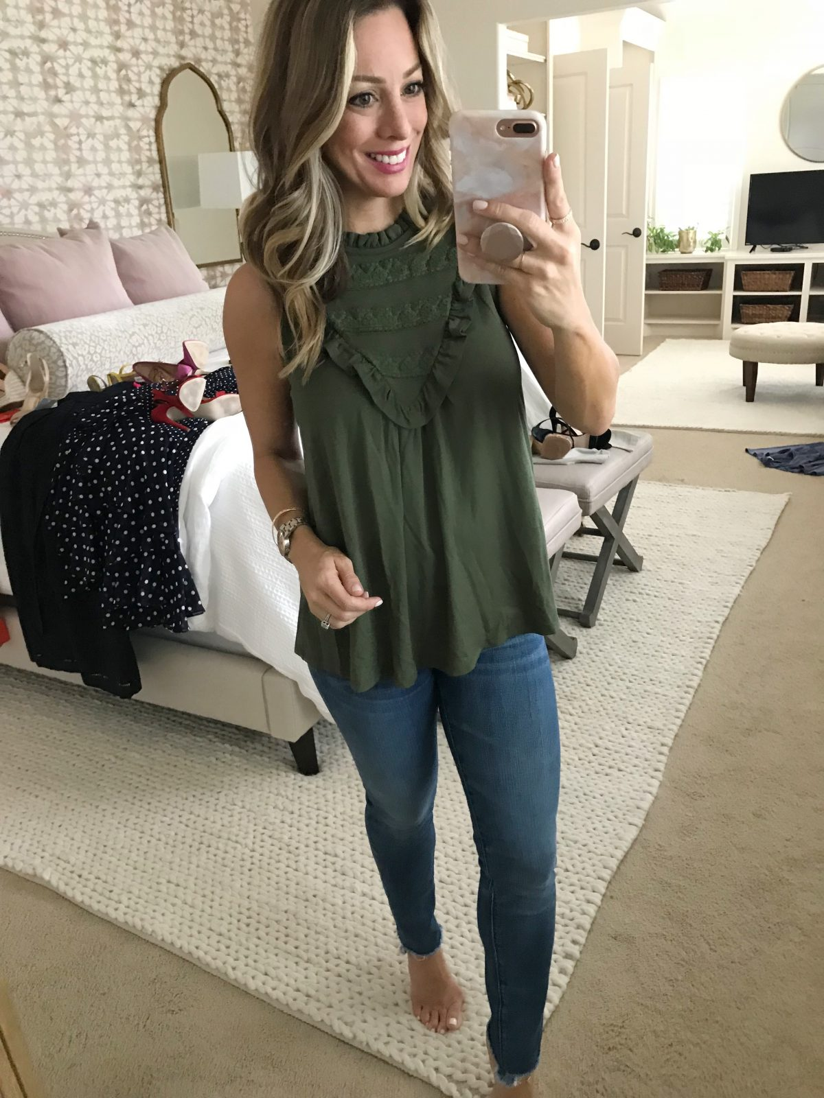 cute casual summer blouse