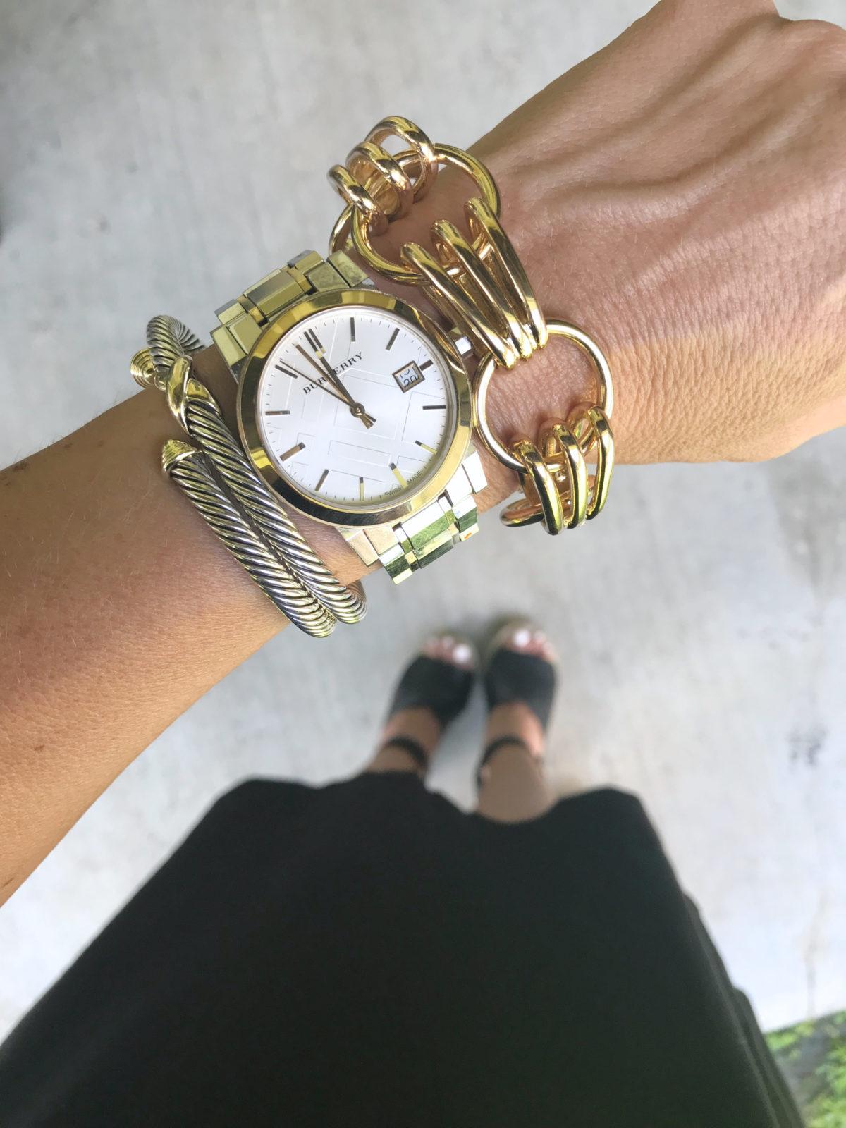 June monthly favorites Gold link bracelet