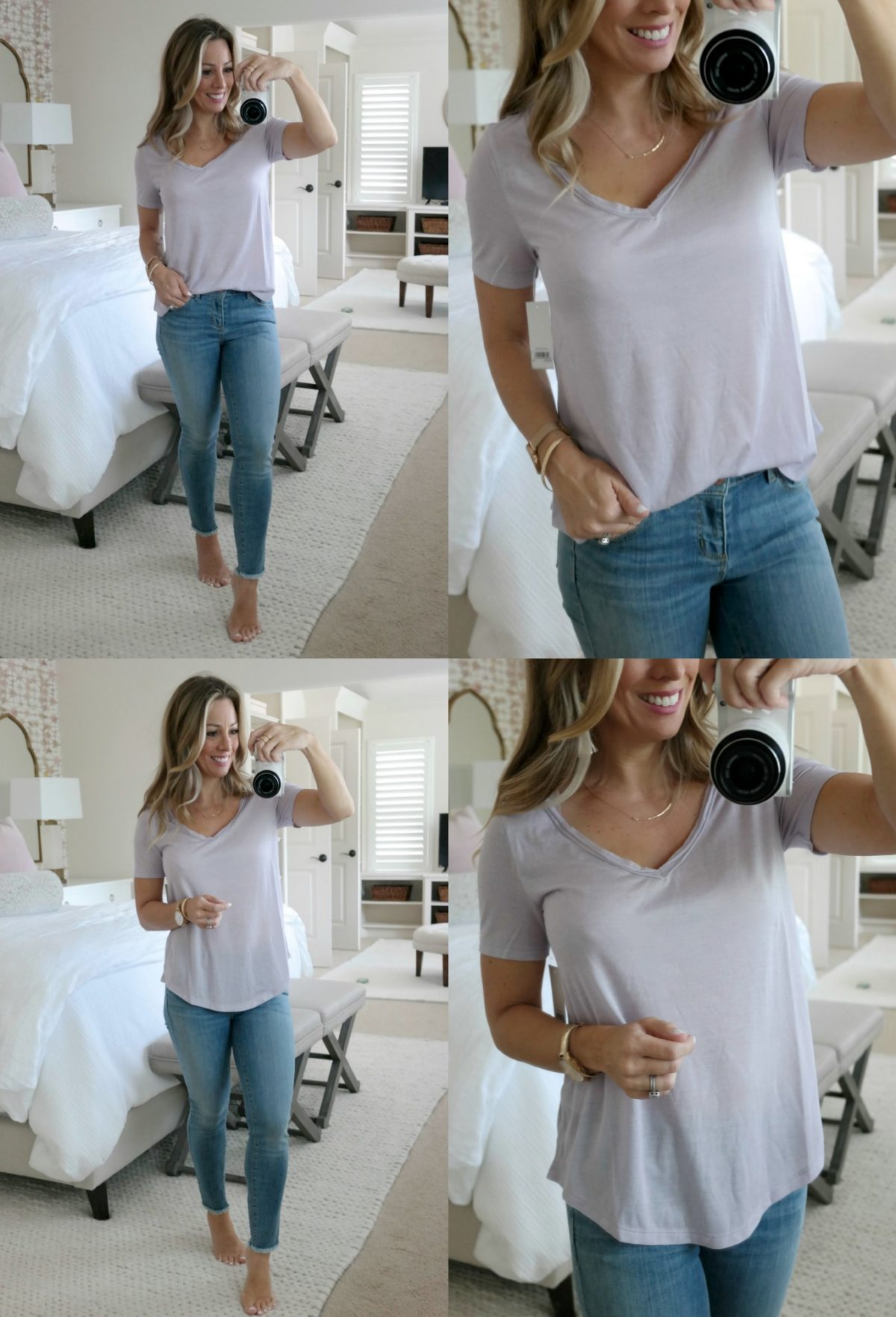 summer tops and jeans