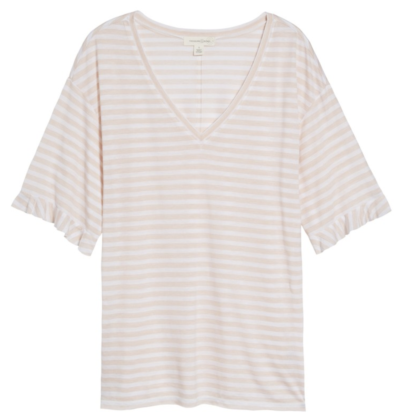 June monthly favorites Ruffle Sleeve Tee