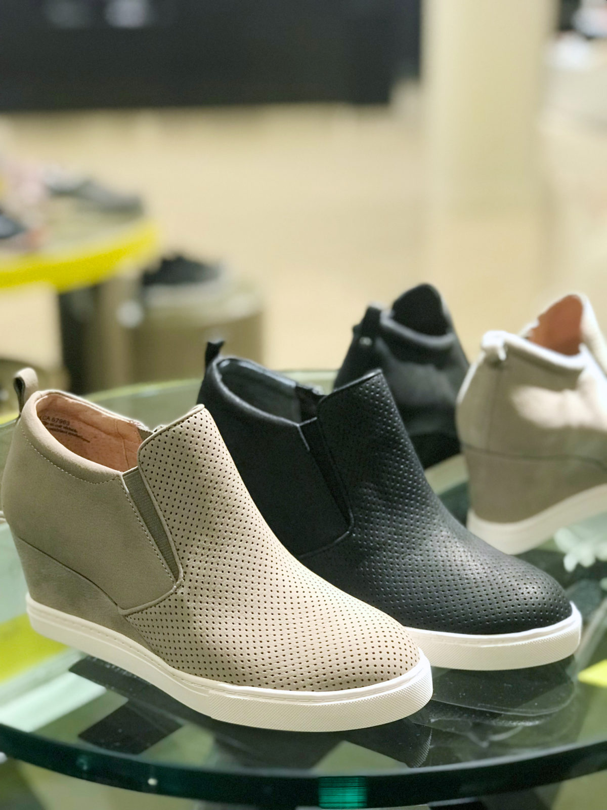 d2c45a0ac43 Nordstrom Anniversary Sale shoe guide Caslon Wedge Sneaker ...