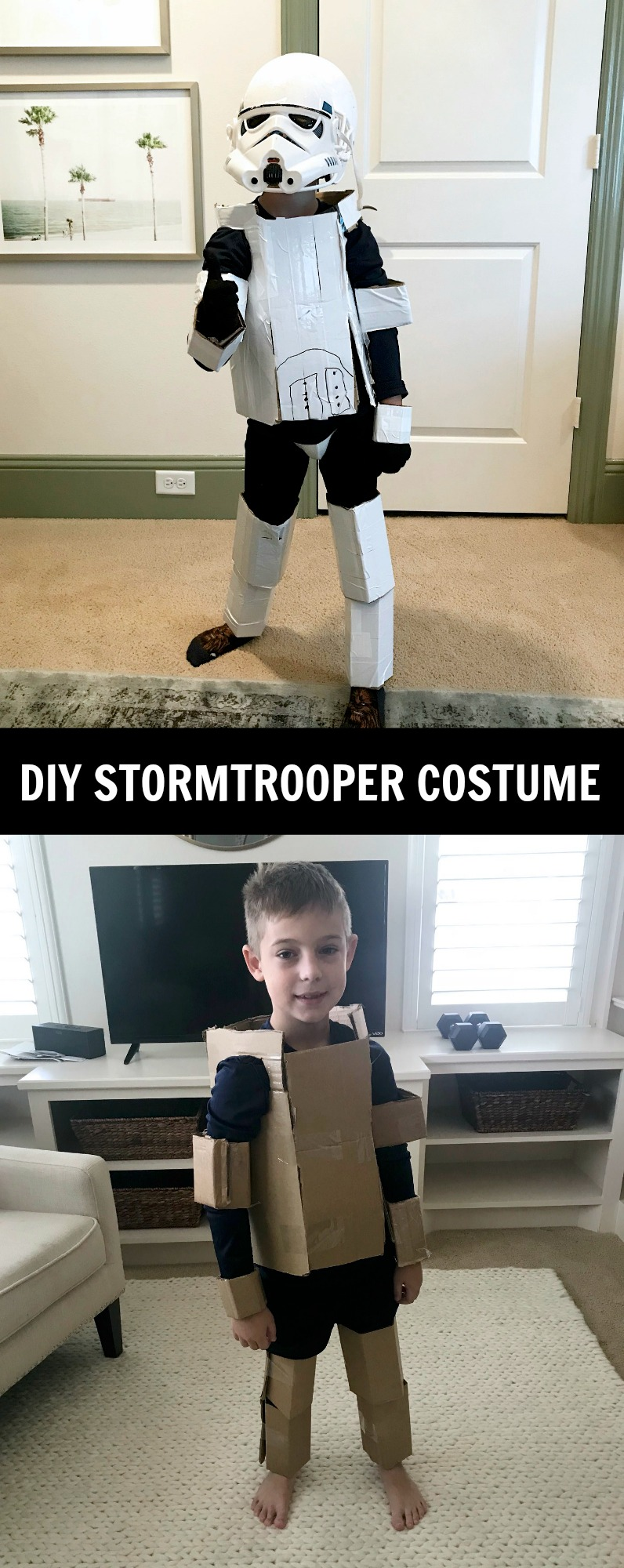 DIY Stormtrooper Costume