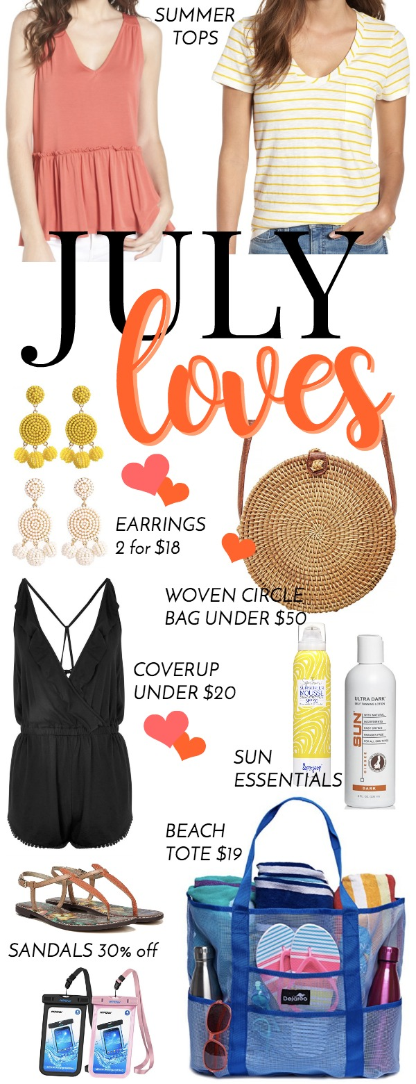 monthly favorites for summer