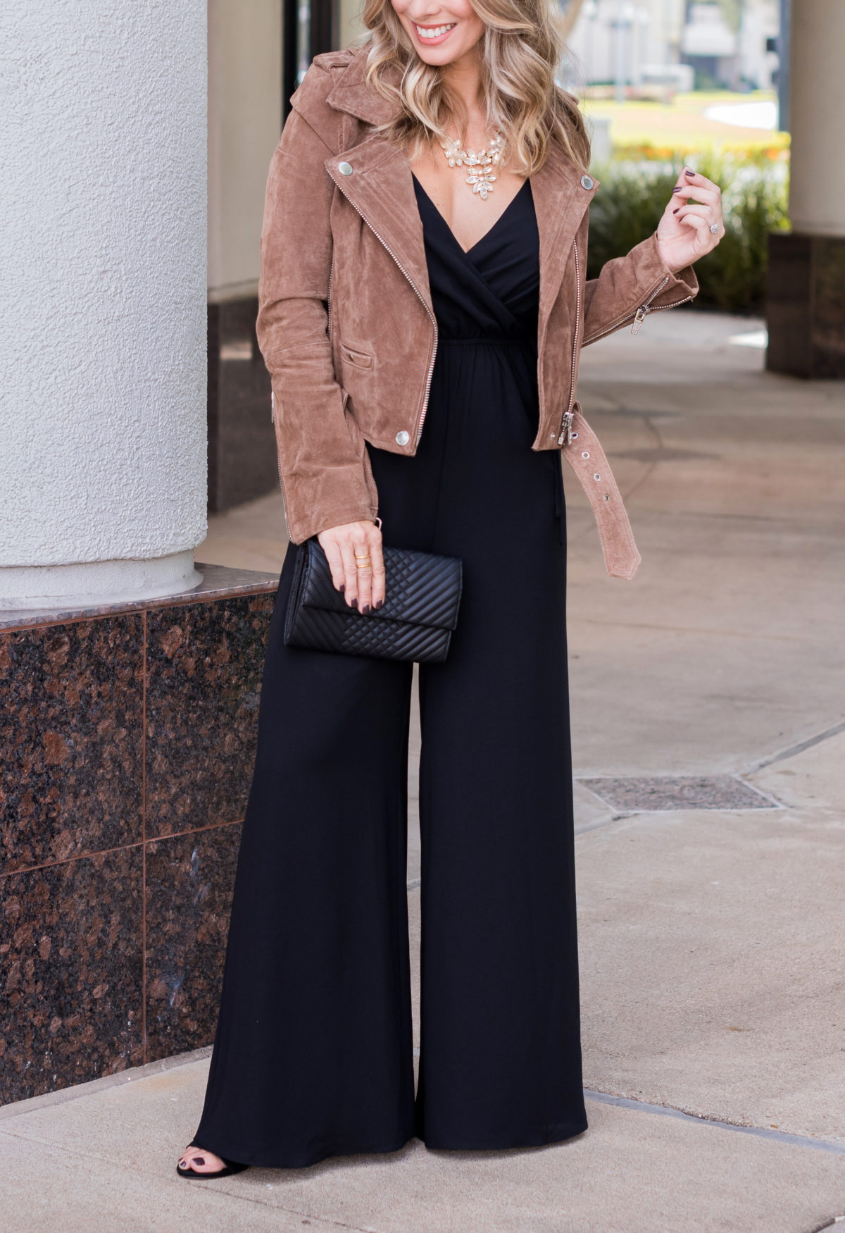 black dressy jumpsuit for fall