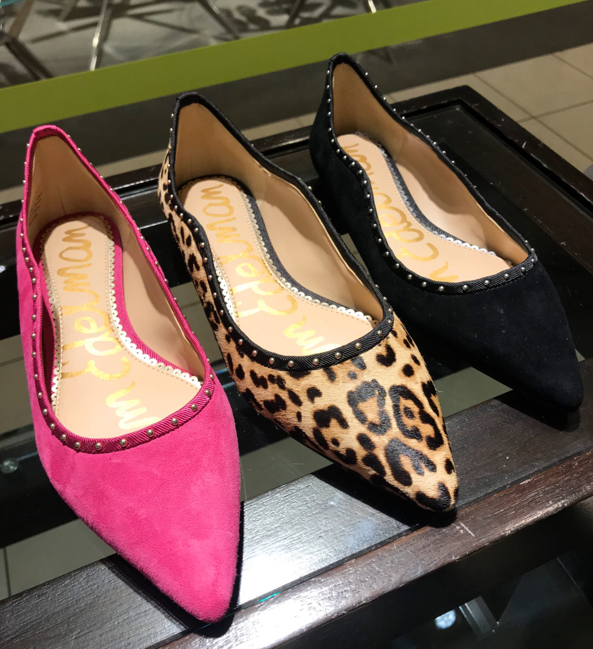 2018 nordstrom anniversary sale sam edelman flats try on haul