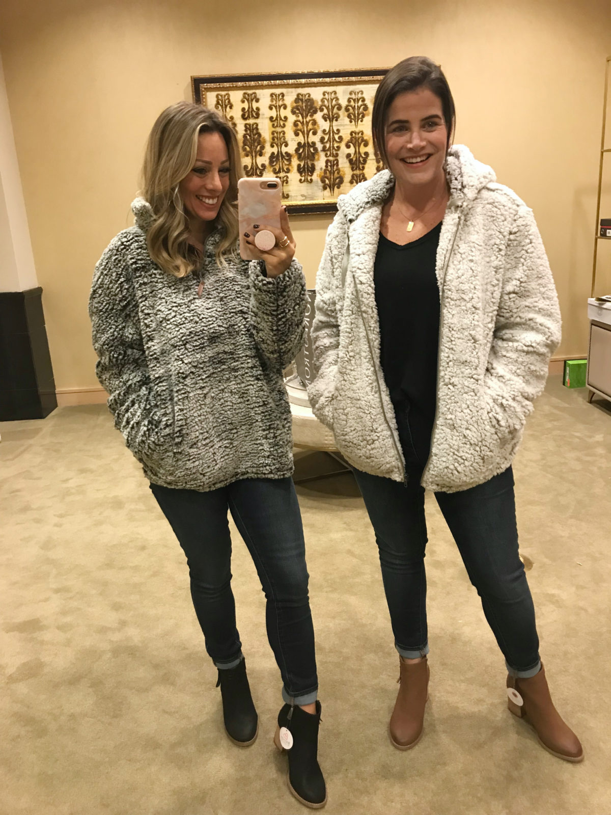 Nordstrom Anniversary Sale try-on wubby fleece pullover