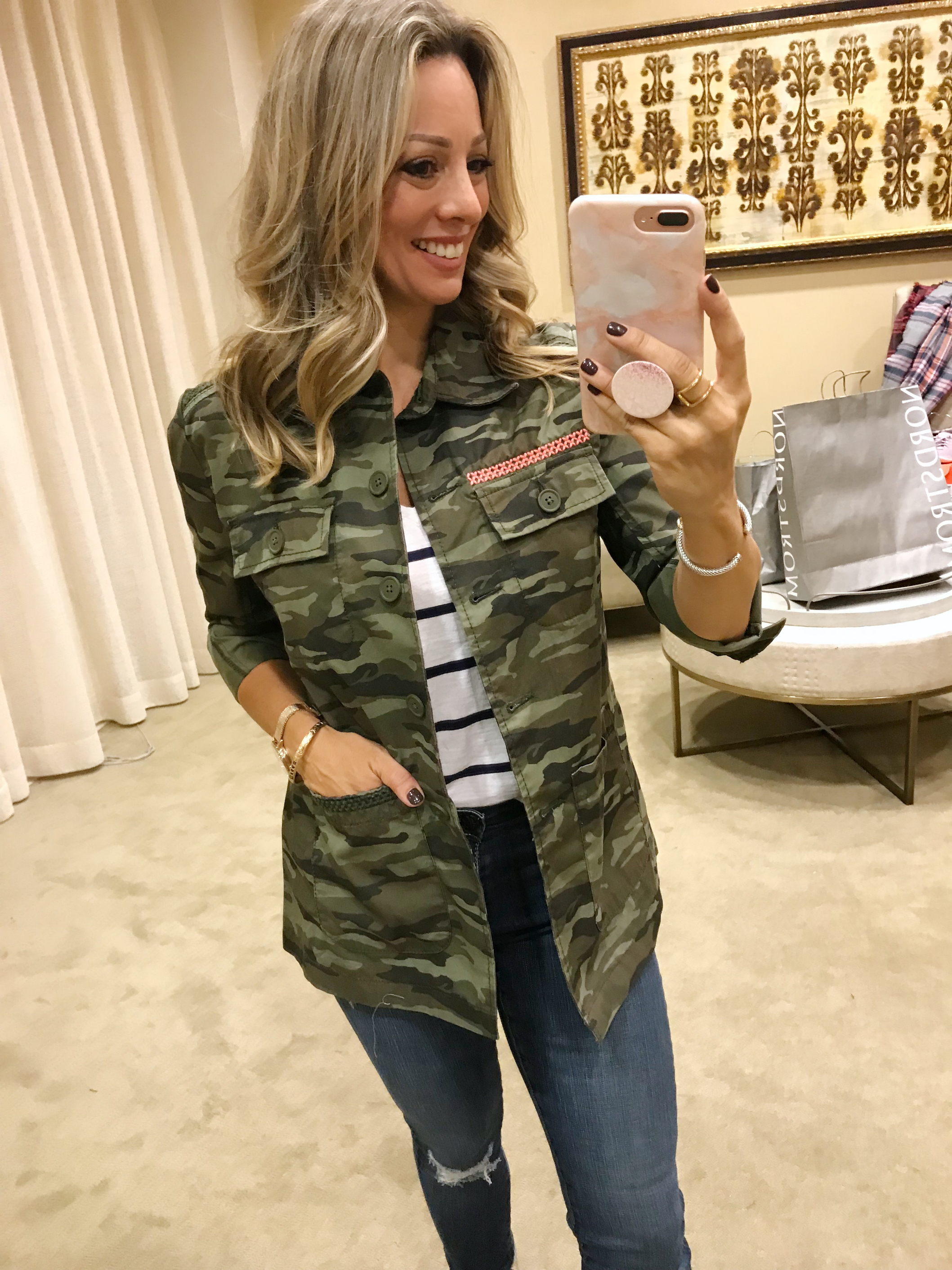 Nordstrom Anniversary Sale last chance military jacket